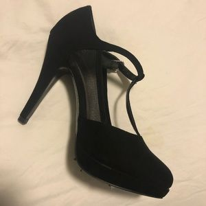 Call it Spring black high heels